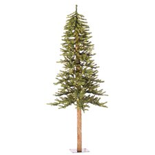 5' Green Artificial Christmas Tree with 150 Clear Lights with Stand