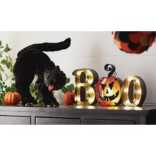Light Up BOO Decor