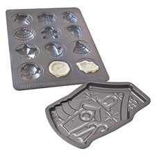 Sweet Creations Non-Stick Holiday Mold Pan Set