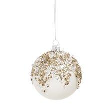 Sparkle Ball Glass Ornament