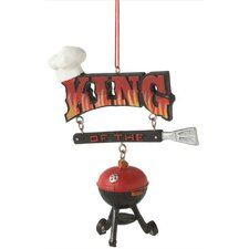 """King of the Grill"" Ornament"