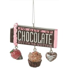 Chocolate Bar Ornament