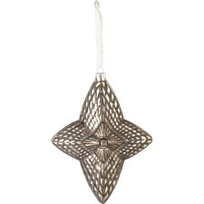 Wintersong Star Glass Ornament