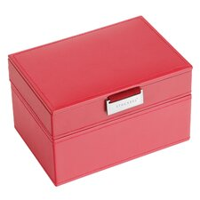 Mini Jewellery Box with Velvet Interior (Set of 2)