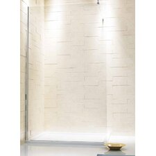 One Piece 0,6 cm x 190 cm x 125 cm Shower Panel