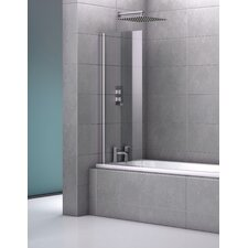 140cm x 62cm Hinged Bath Screen