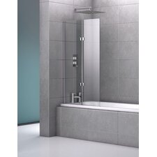 140cm x 82cm Hinged Bath Screen