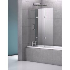 140cm x 122cm Hinged Bath Screen