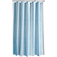 Coastal Stripe Shower Curtain