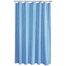 Malibu Stripe Shower Curtain