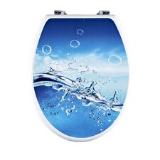 Splash Elongated Toilet Seat