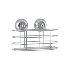 Metal Hanging Suctioned Shower Caddy