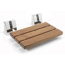 Wood Drill and Screw Mount Shower Chair