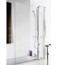 140cm x 92cm Hinged Bath Screen