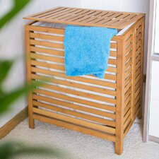 Wooden Linen Basket