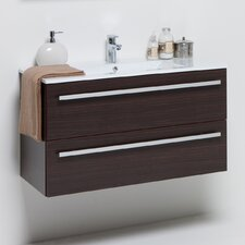 90 cm Wall Mounted Bathroom Vanity
