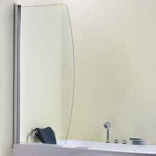 145cm x 90cm Hinged Bath Screen