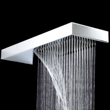 Square Fixed Shower Head with Ceiling Arm