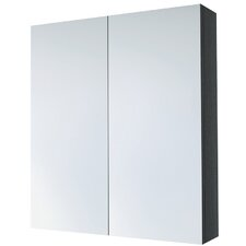 60cm x 70cm Surface Mount Mirror Cabinet