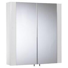 60cm x 65cm Surface Mount Mirror Cabinet