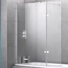 Orno 155cm x 131cm Hinged Bath Screen