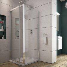 Norma 185cm x 80cm x 6cm Pivot Door Shower Enclosure
