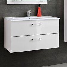 60 cm Einzelwaschbeckenunterschrank-Set Forvie