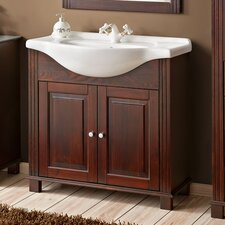 Croa 85cm Single Vanity Set