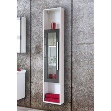 30 x 160cm Wall Mounted Tall Bathroom Cabinet