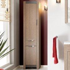 Nipomo 43 x 190 cm Free Standing Tall Bathroom Cabinet