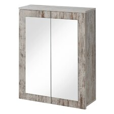 Fraser Island 65cm x 70cm Surface Mount Mirror Cabinet
