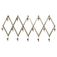 Wall Mounted Ruler Coat Rack