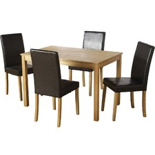 Anns Dining Table and 4 Chairs
