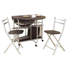 Prower Extendable Dining Table and 4 Chairs