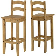 Classic Corona Bar Stool (Set of 2)