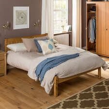 Thornton Pine Wood Bed Frame