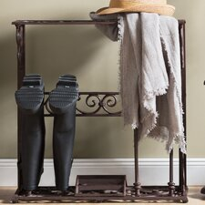 Iron Boot Rack