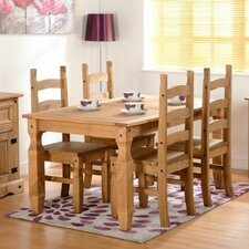 Chase Dining Table and 4 Chairs