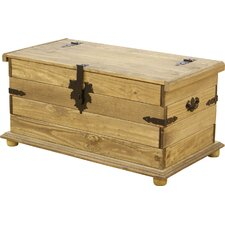 Chase Distressed Wooden Blanket Box