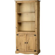 Chase 2 Door Display 182.9cm Standard Bookcase