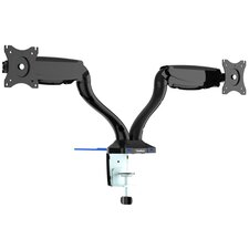 Premium Gas Spring Articulating Universal 2 Screen Desk Mount