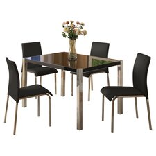 Karina Dining Table and 4 Chairs