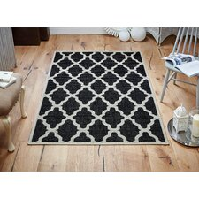 Kaley Black/Cream Area Rug