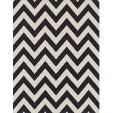 Margaret Cream/Black Area Rug