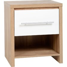 Brandi 1 Drawer Bedside Table