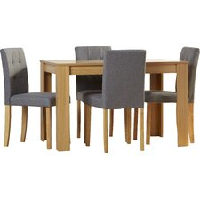 Katrina Dining Table and 4 Chairs