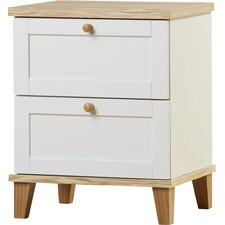 Kamryn 2 Drawer Bedside Table