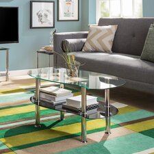Mason Coffee Table with Magazine Rack