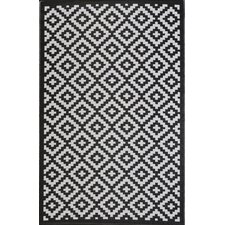 Rylee Black Indoor/Outdoor Rug