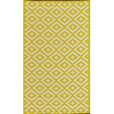 Krista Yellow Outdoor Area Rug